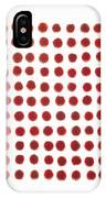 Red Berries In A Grid IPhone Case