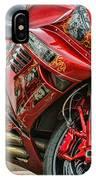 Red Bike IPhone Case