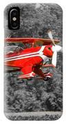 Red Biplane IPhone Case