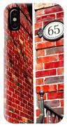 Red Bricks IPhone Case