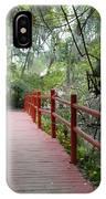 Red Bridge IPhone Case