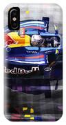 Red Bull Rb6 Vettel 2010 IPhone Case
