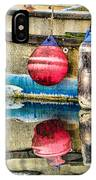 Red Buoy Reflections Of Alaska IPhone Case