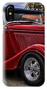 Red Cabrolet IPhone Case
