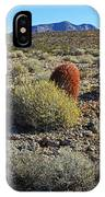 Red Cactus IPhone Case