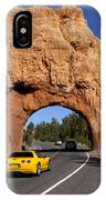 Red Canyon Near Bryce Canyon In Utah IPhone Case
