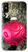 Red Christmas Ornament IPhone Case