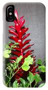 Red Cone Ginger - No 1 IPhone Case