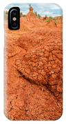 Red Desert Column IPhone Case