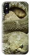 Red Diamond Rattlesnake 3 IPhone Case