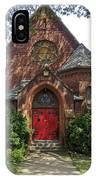 Red Door Church IPhone Case