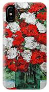 Red Explosion IPhone Case