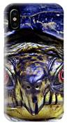 Red Eyed Turtle  IPhone Case