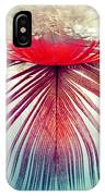 Red Feather IPhone Case by Ivan Vukelic