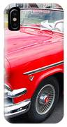 Red Ford Convertible IPhone Case