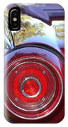 Red Ford Tailight IPhone Case