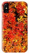 Red-golden Alpine Shrubs IPhone Case