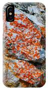 Red Growth Rock IPhone Case