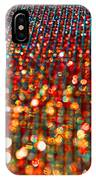 Red Hot Bokeh Bling IPhone Case
