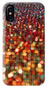 Red Hot Bokeh Bling IPhone Case