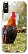 Red Jungle Fowl - Moa IPhone Case