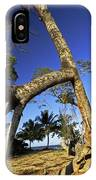 Red Mangrove Aerial Roots IPhone Case