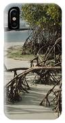 Red Mangrove Root Galapagos Islands IPhone Case