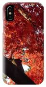 Red Maple 02 IPhone Case