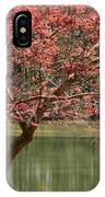 Red Maple IPhone Case