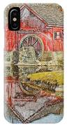 Red Mill II IPhone Case