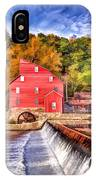 Red Mill Painted IPhone Case