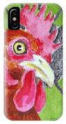 Red Nugget IPhone Case