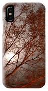 Red Oak At Sunrise IPhone Case