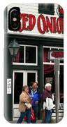 Red Onion Saloon IPhone Case