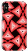 Red Ornament IIi IPhone Case