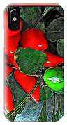 Red Pepper Plant IPhone Case