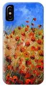 Red Poppies 562111 IPhone Case