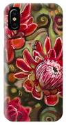 Red Proteas IPhone Case