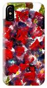 Red Purple Flower IPhone Case