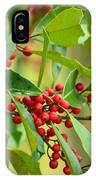 Red Ripe Berries IPhone Case