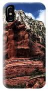 Red Rock At Oak Creek IPhone Case