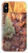 Red Rock Christmas IPhone Case