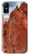 Red Rock Cluster IPhone Case