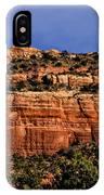 Red Rock Crag IPhone Case