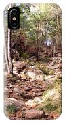 Red Rock Pine Forest IPhone Case