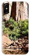 Red Rock Reflection IPhone Case