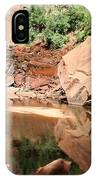 Red Rock Reflection I IPhone Case