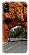 Red Rock Tunnel IPhone X Case