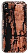 Red Rock Wall IPhone Case
