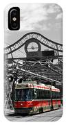 Red Rocket 5b IPhone Case